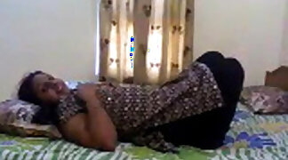 Very cute Indian girl loving sex with husband
